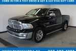 This Black 4 door Laramie Pickup features a Black interior a 8 Spd Automatic transmission, a  NoneL  V 8 engine, and has 63133 kilometres on it.