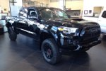This Black 4 door TRD Sport Upgrade with Gateway Extreme Package Pickup features a Black interior a 6 Spd Automatic transmission, a  3.5L  V 6 engine, and has 0 kilometres on it.