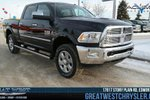 This Black 4 door Laramie Pickup features a Black interior  a  6.7L  I 6 engine, and has 7000 kilometres on it.
