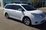 This White 4 door LE 8 Passenger 4dr Front-wheel Drive Passenger Van Passenger Van features a Grey interior a 8 Spd Automatic transmission, a  3.5L  V 6 engine, and has 0 kilometres on it.