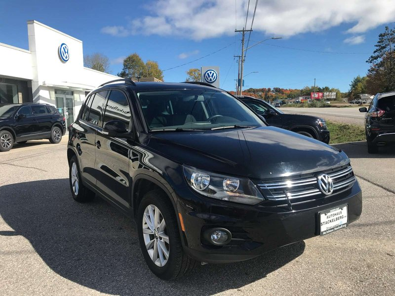 2015 Volkswagen Tiguan for sale in North Bay, Ontario