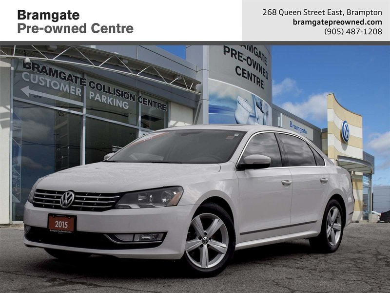 2015 Volkswagen Passat for sale in Brampton, Ontario