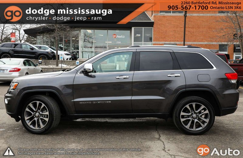 2018 Jeep Grand Cherokee for sale in Mississauga, Ontario