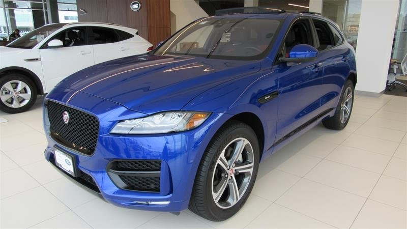 2018 Jaguar F-PACE for sale in Richmond, British Columbia