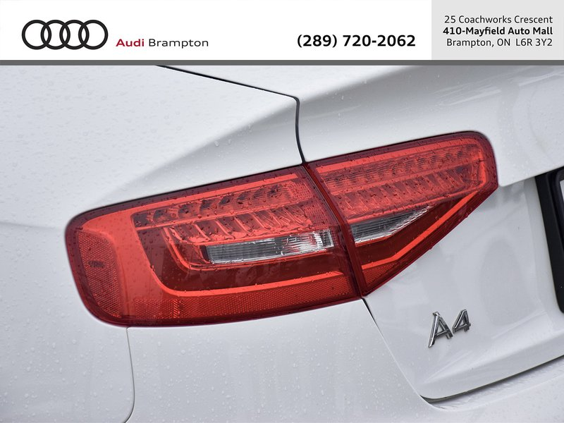 2015 Audi A4 for sale in Brampton, Ontario