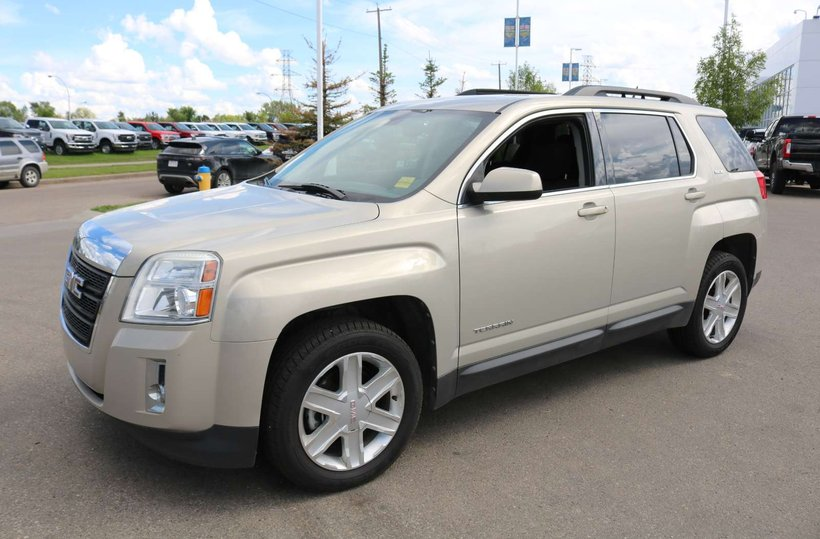 Pewter 2011 GMC Terrain SLE-2 for sale in Edmonton, Alberta