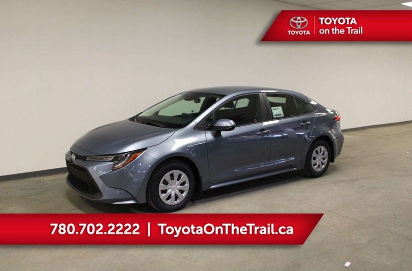 Grey 2020 Toyota Corolla L for sale in Edmonton, Alberta