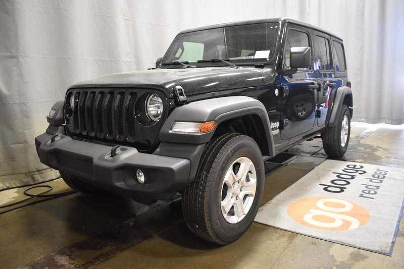 2018 Jeep Wrangler Unlimited for sale in Red Deer, Alberta