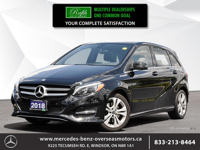 2018 Mercedes-Benz B-Class for sale in Windsor, Ontario