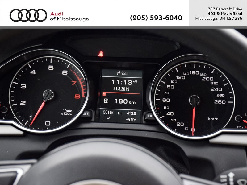 2013 Audi A5 for sale in Mississauga, Ontario