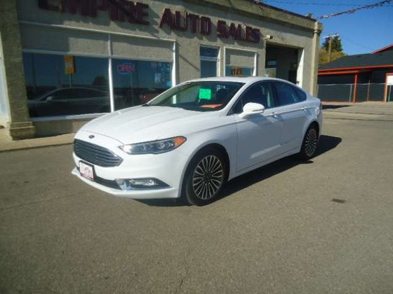 2017 Ford Fusion for sale in Lacombe, Alberta