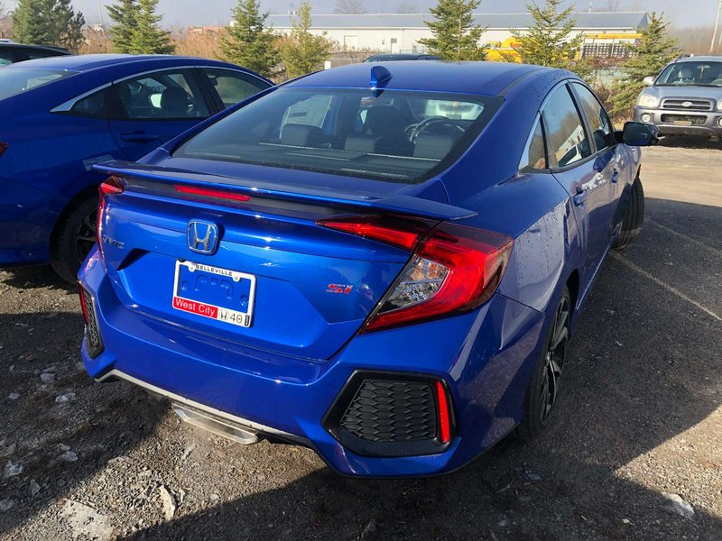 2019 Honda Civic Si Sedan for sale in Belleville, Ontario