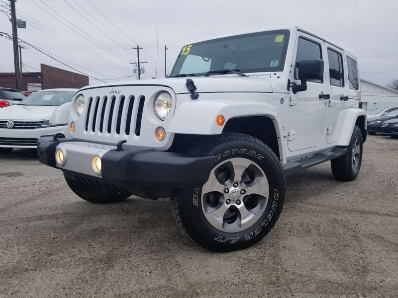 2015 Jeep Wrangler Unlimited for sale in Sydney, Nova Scotia