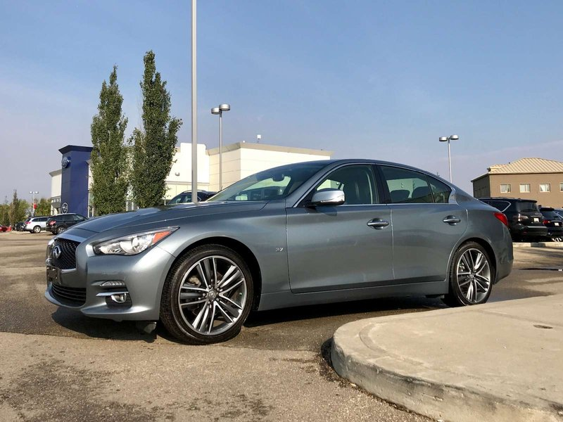 2015 Infiniti Q50 for sale in Edmonton, Alberta