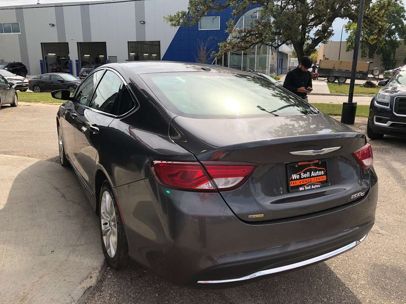 2016 Chrysler 200 for sale in Winnipeg, Manitoba