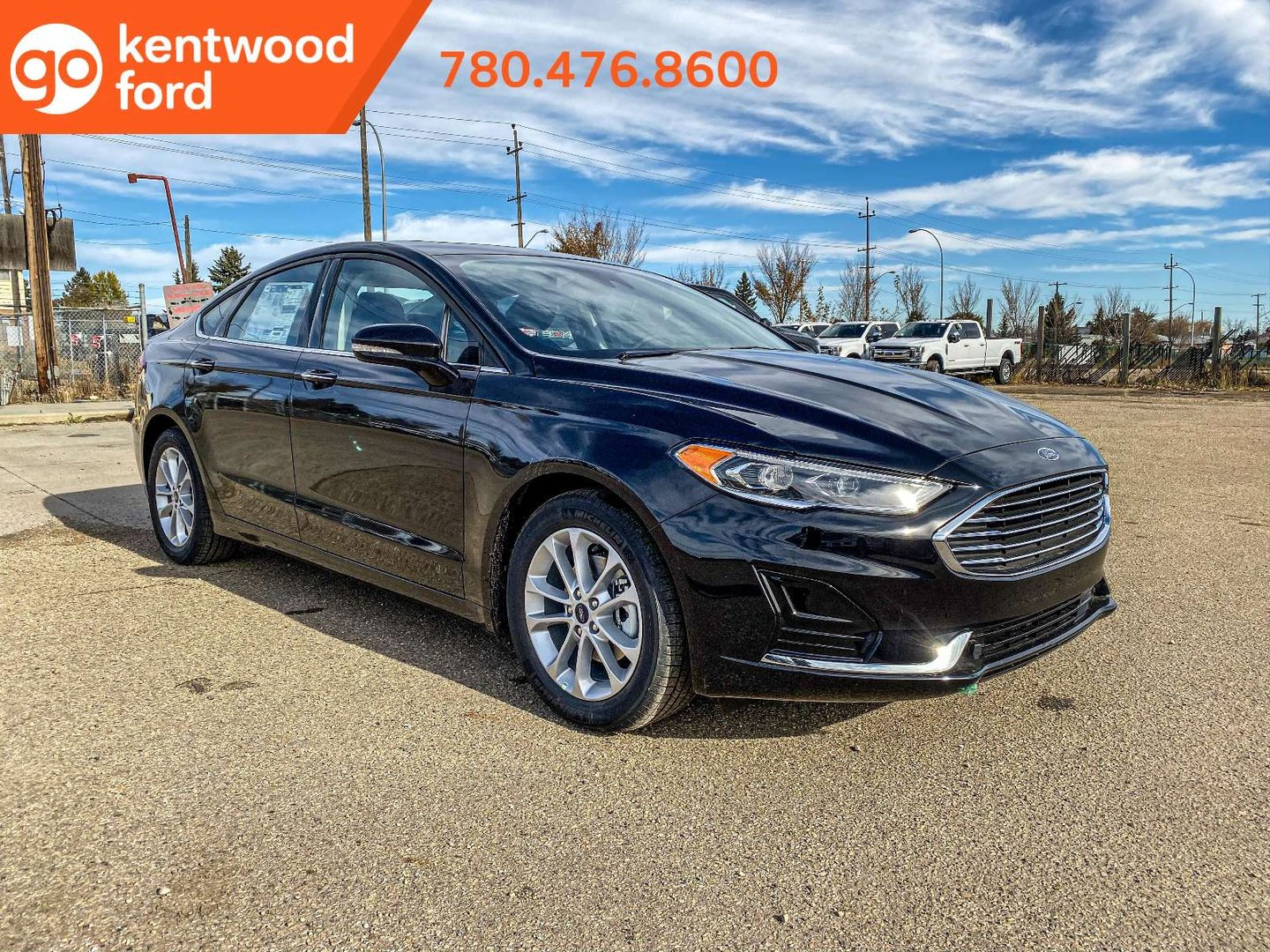 2020 Ford Fusion Hybrid SEL for sale in Edmonton, Alberta