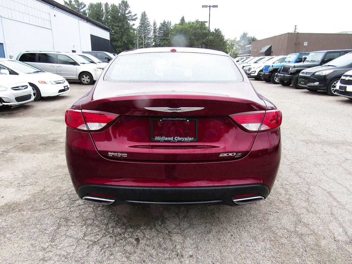 2016 Chrysler 200 for sale in Midland, Ontario